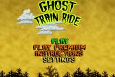 Играть Призраки на американских горках онлайн флеш игра для детей