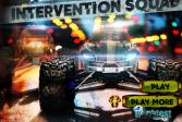 Играть Интервенция грузовика-монстра онлайн флеш игра для детей