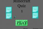Играть Майнкрафт 1.3.2 - Викторина 1 онлайн флеш игра для детей