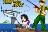 Играть Быстрая рыбалка онлайн флеш игра для детей
