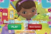 Играть Доктор Плюшева: Тест по математике онлайн флеш игра для детей