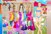 Играть Одеваем Барби в Венеции онлайн флеш игра для детей