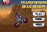 Играть Мертвая пустыня трансформеров онлайн флеш игра для детей