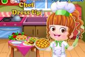 Играть Малышка Хейзел: Наряд шеф-повара онлайн флеш игра для детей