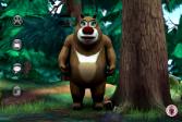 Играть Говорящий медведь онлайн флеш игра для детей