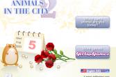Играть Животные в городе 2 онлайн флеш игра для детей