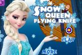 Играть Эльза метает ножи онлайн флеш игра для детей