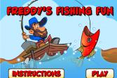 Играть Фредди на рыбалке онлайн флеш игра для детей