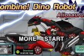 Играть Скомбинируй диноробота: Аллозавр онлайн флеш игра для детей