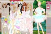 Играть Барби невеста Белый лебедь онлайн флеш игра для детей