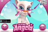 Играть Говорящая Анджела: Поход к лору онлайн флеш игра для детей