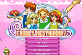 Играть Семейный ресторан онлайн флеш игра для детей