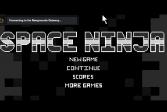 Играть Космический ниндзя онлайн флеш игра для детей