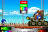 Играть Соник против Иггмена онлайн флеш игра для детей