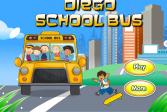 Играть Диего бежит за школьным автобусом онлайн флеш игра для детей