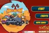 Играть Гонки для динозавров онлайн флеш игра для детей