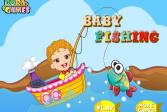 Играть Детская рыбалка онлайн флеш игра для детей