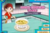 Играть Курица с клецками: Кулинарный класс Сары онлайн флеш игра для детей