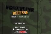 Играть Защита территории: Первый штурм онлайн флеш игра для детей