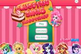 Играть Кондитерская Пинки Пай в Эквестрии онлайн флеш игра для детей