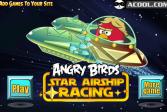 Играть Злые птицы: звездные воины. Гонки на дережаблях онлайн флеш игра для детей