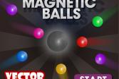 Играть Магнитные шары онлайн флеш игра для детей