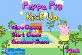 Играть Свинка Пеппа: Клик вверх онлайн флеш игра для детей