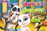 Играть Говорящая Анжела: Боди-арт онлайн флеш игра для детей