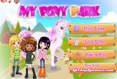 Играть Мой парк для пони онлайн флеш игра для детей