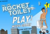 Играть Туалет-ракета онлайн флеш игра для детей