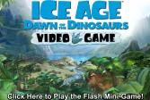 Играть Ледниковый период эра динозавров: видео игра онлайн флеш игра для детей