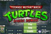 Играть Ниндзя Черепашки Двойной Удар онлайн флеш игра для детей