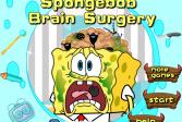 Играть Губка Боб: Хирургия головного мозга онлайн флеш игра для детей