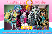 Играть Монстер Хай: Отличия онлайн флеш игра для детей