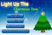 Играть Зажги рождественскую елку онлайн флеш игра для детей
