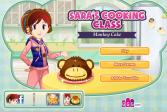 Играть Торт «Обезьянка»: кухня Сары онлайн флеш игра для детей
