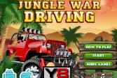 Играть Война в джунглях: Водитель онлайн флеш игра для детей