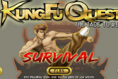 Играть Задания кунг-фу: Нефритовая башня выживание онлайн флеш игра для детей