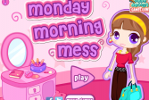 Играть Утро понедельника: Беспорядок онлайн флеш игра для детей