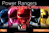 Играть Могучие рейнджеры: Поиск отличий онлайн флеш игра для детей