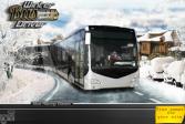 Играть Водитель зимнего автобуса онлайн флеш игра для детей
