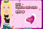 Играть Шоу причесок 2011 года онлайн флеш игра для детей
