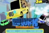 Играть Такси в Нью Йорке онлайн флеш игра для детей