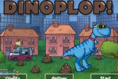 Играть Хлопни динозавром онлайн флеш игра для детей
