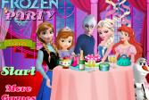 Играть Холодное сердце: Вечеринка онлайн флеш игра для детей