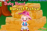 Играть Малышка Хейзел: Праздник урожая онлайн флеш игра для детей