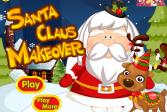 Играть Макияж для Санты онлайн флеш игра для детей