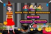 Играть Первый Хэллоуин Софии онлайн флеш игра для детей