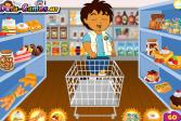 Играть Шоппинг Диего онлайн флеш игра для детей