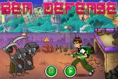 Играть Бен 10: Защита онлайн флеш игра для детей